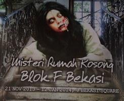 Horror Show – Misteri rumah Kosong Blok F Bekasi