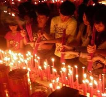 Meriahnya Perayaan Imlek di Bekasi