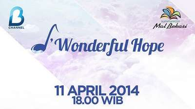 Konser Musik Wonderful Hope