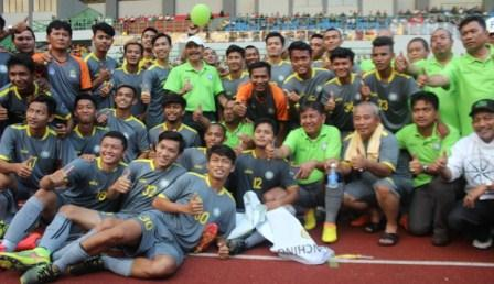 Wow !!! Patriot Chandrabaga FC Juara Suratin 2017