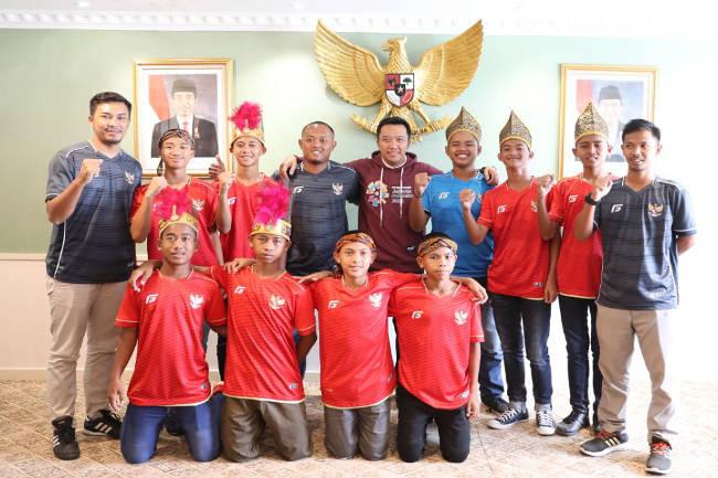 Krisna Sugina, Dari Bekasi Menuju Panggung Piala Dunia
