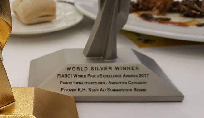 Wow !!.. Flyover KH Noer Ali Dapat Penghargaan Kelas Dunia